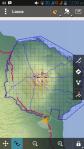 Baluran yang sudah dibagi dalam grid 1x1 km